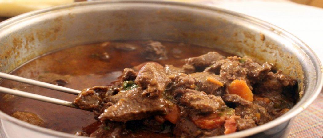 receita de carne de vaca à antiga nos açores