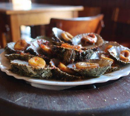 receita de Lapas grelhadas à moda dos Açores