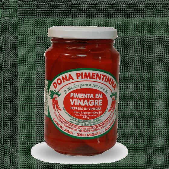 Pimenta em vinagre dona pimentinha